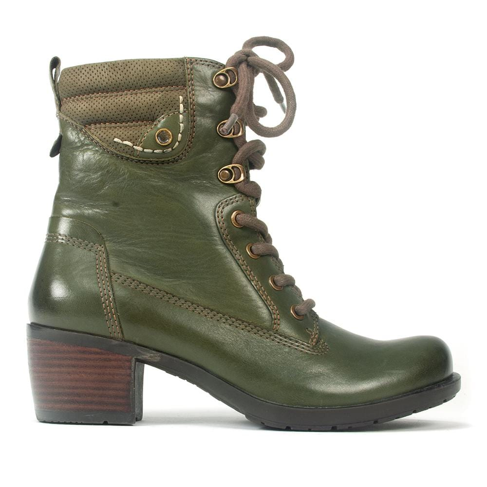 Earth Anchor Boot | Women's Comfortable Leather Combat Boot | Simons