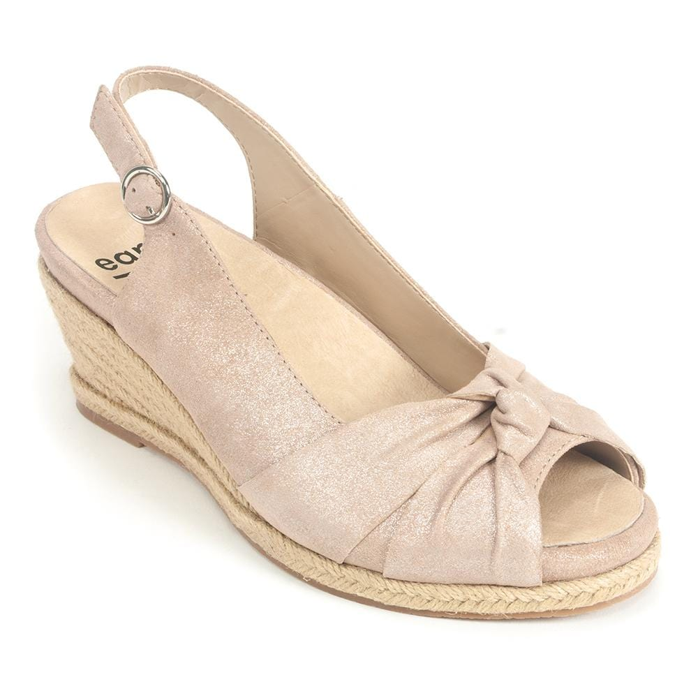 Earth Leather Bermuda Slingback Sandal | Simons Shoes