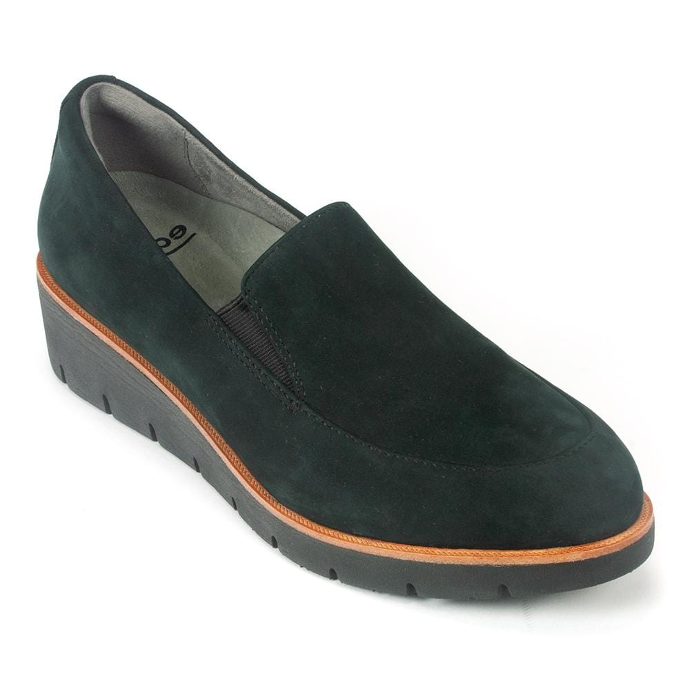 Earth Bern Loafer | Women's Comfortable Leather Suede Slip On Loafer