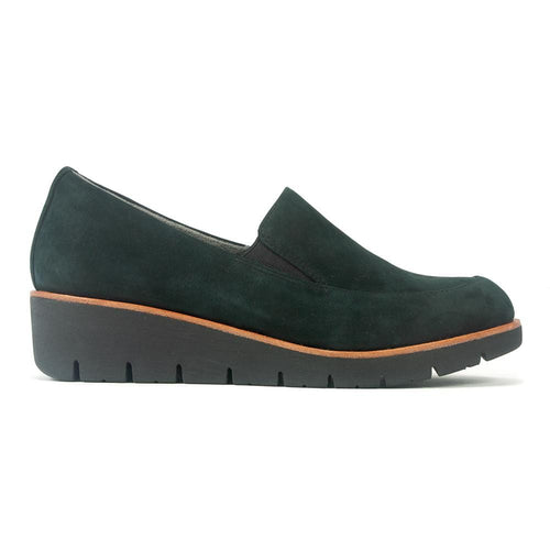 Earth Bern Loafer | Women's Comfortable Leather Suede Slip On | Simons