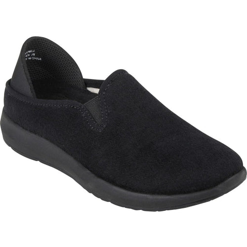 Earth Guru Women's Wool Slip On Rubber Back Cushioned Flat Casual Shoe