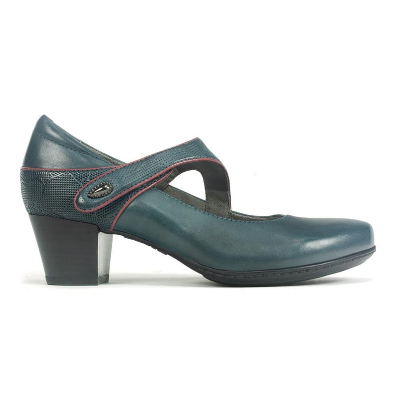 Earth Montreal Women's Leather High Heel Mary Jane Pump | Simons Shoes
