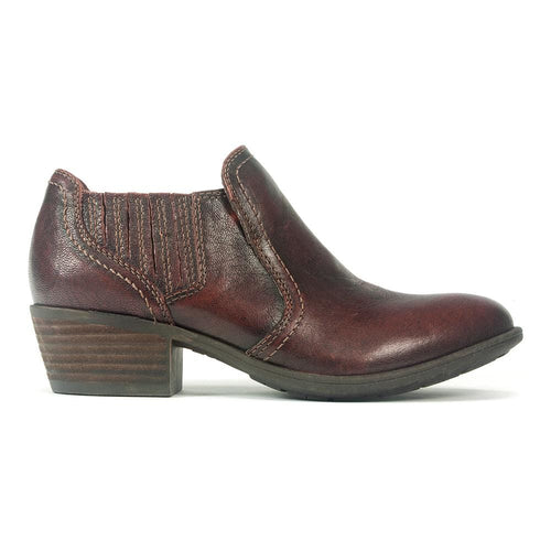 Earth Peru Women's Leather Western Ankle Comfort Bootie | Simons Shoes