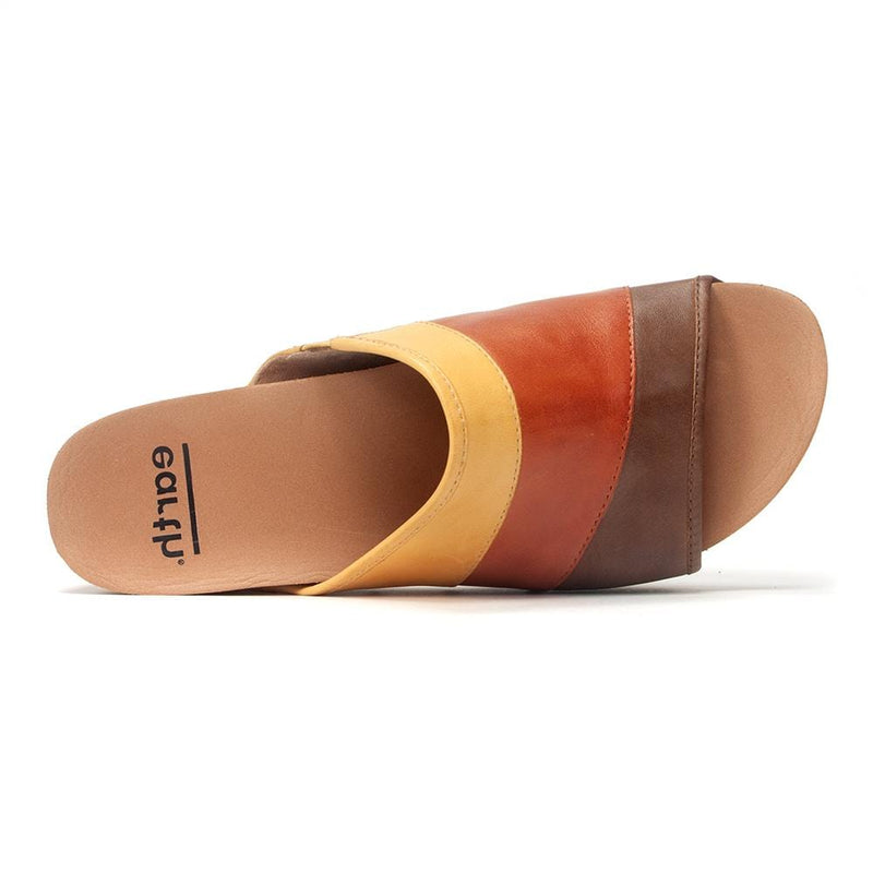 Tiga Low-Wedge Sandal