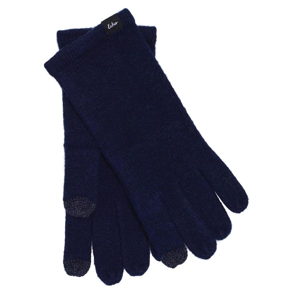 Echo Design ECO465 Navy Knit Touch Glove | Simons Shoes