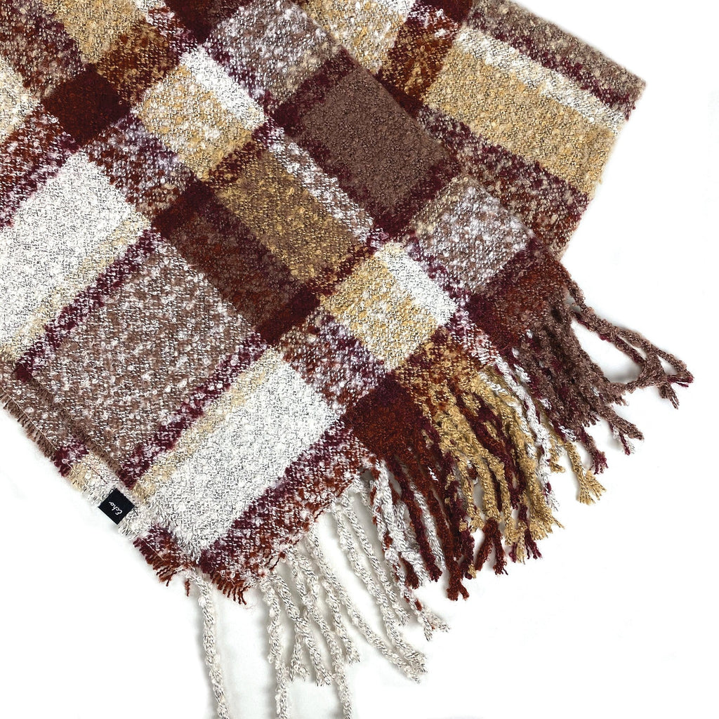 Echo Design ECO336 Cozy Plaid Scarf | Simons Shoes
