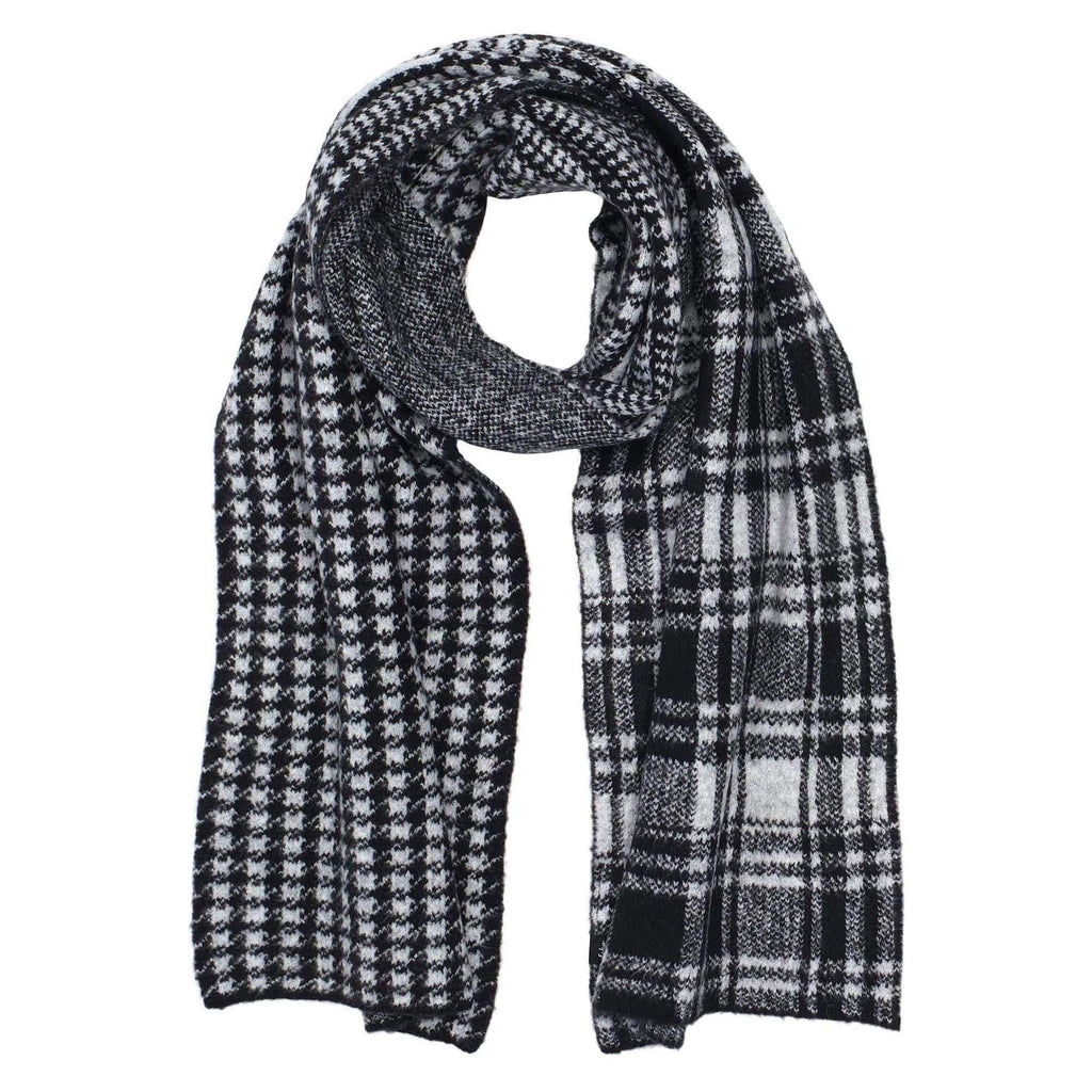 Echo Design ECO546 Mixed Plaid Scarf | Simons Shoes
