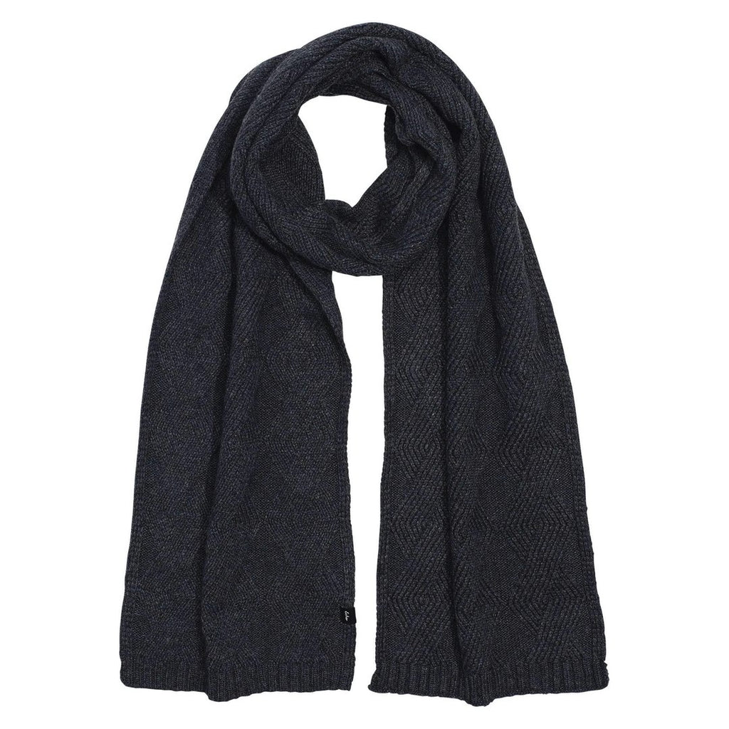 Echo Recycled Cable Set Women's Charcoal Scarf and Hat | Simons Shoes