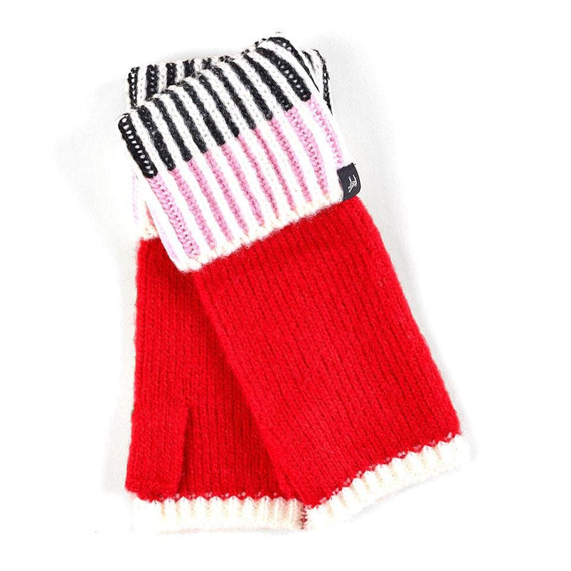 Echo Lollipop Fingerless Gloves (ECO328) Winter Fun Peony │ Simons Shoes