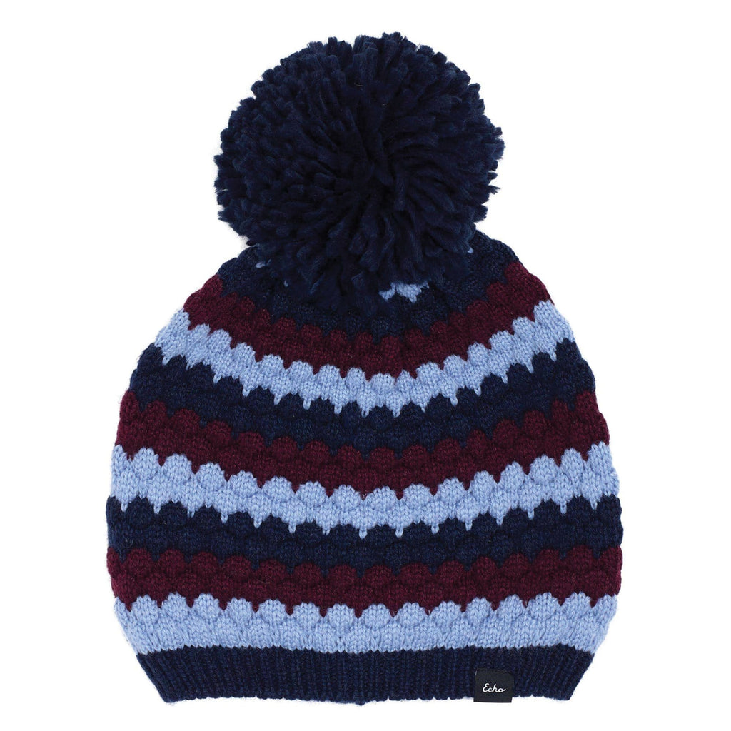 Echo Design ECO559 Navy Recycled Bubble Hat | Simons Shoes