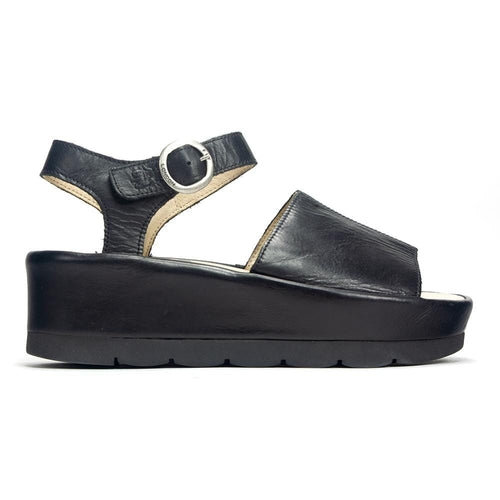 Fly London Bano Leather Platform Sandal (BANO971)