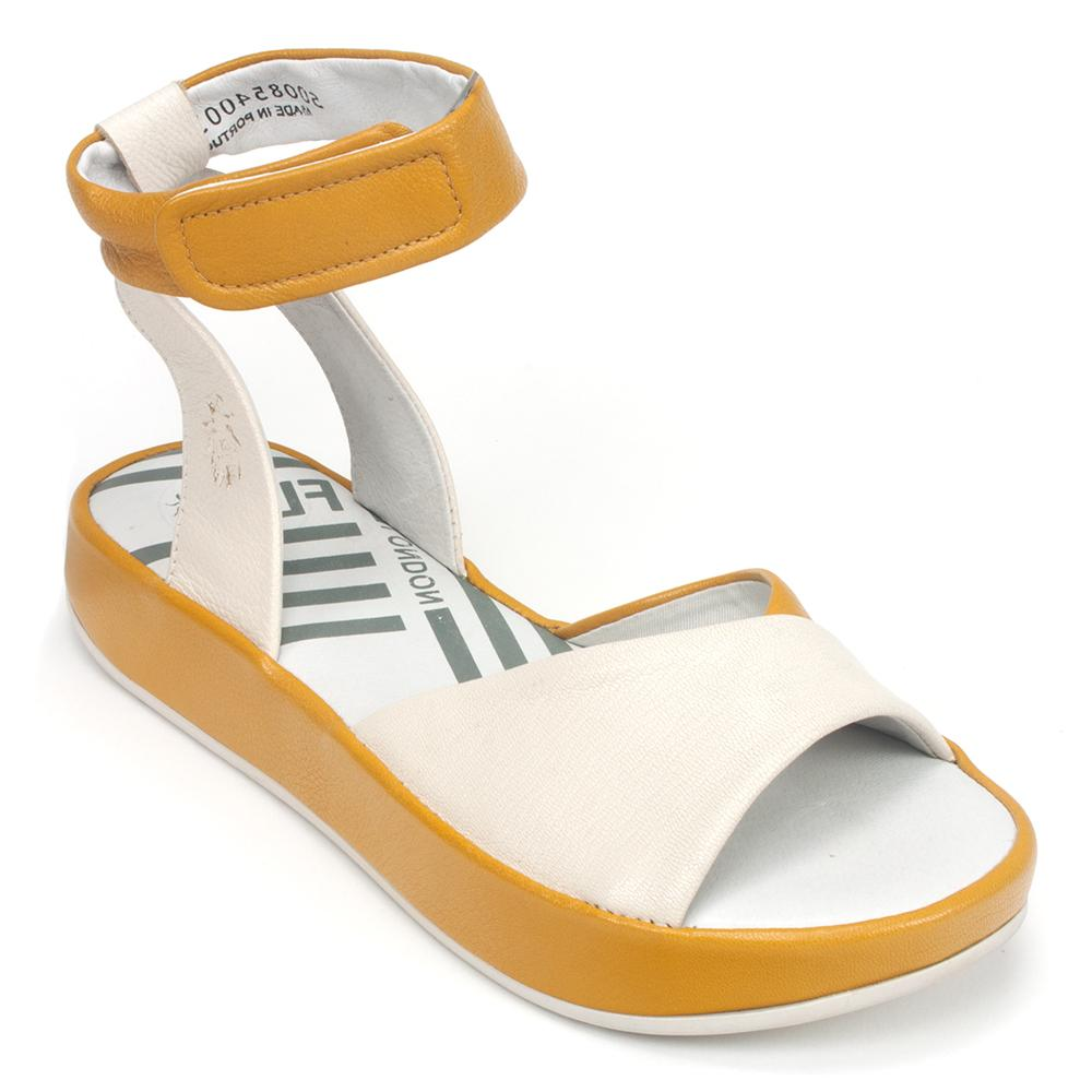 Fly London Shoe - Women's Leather Bibb-854 Ankle-Strap Sandal | Simons
