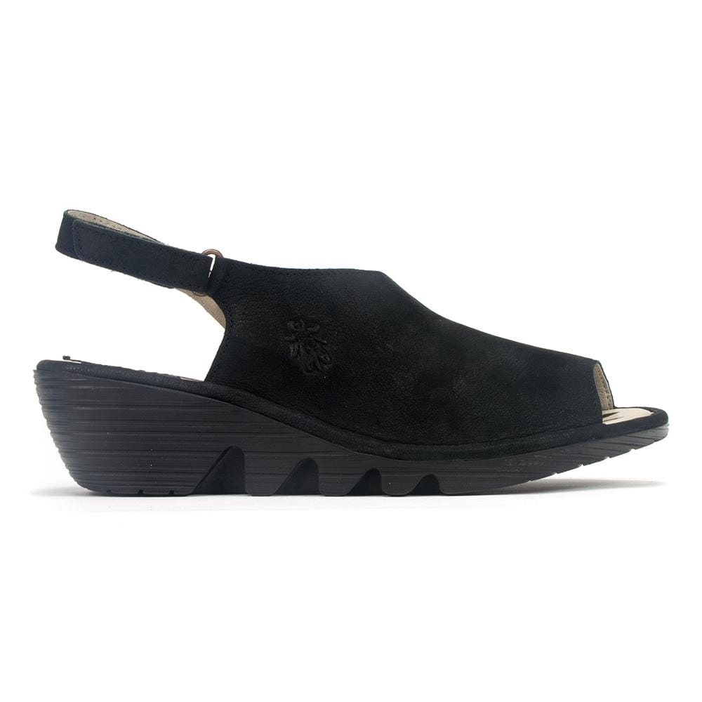 Fly London Sandal - Women's Palp-814 Leather Low-Wedge Sandal | Simons