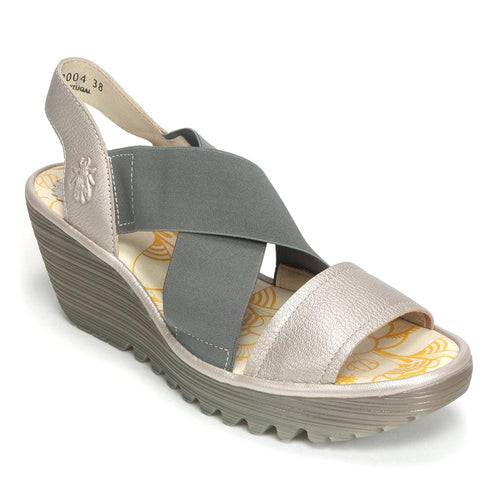 Yaji Low Wedge Sandal (888)