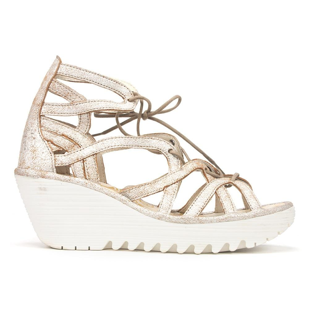 Fly London Women's Yuke Wedge Sandal Shoe