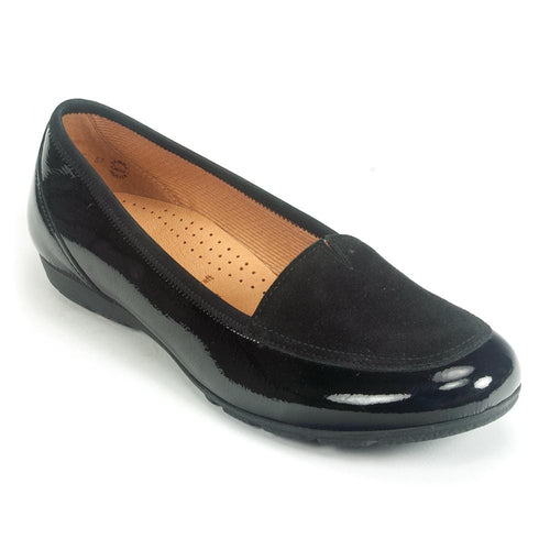 Gabor Women's Reedham Leather Slip on Loafer (34.164) | Simons Shoes