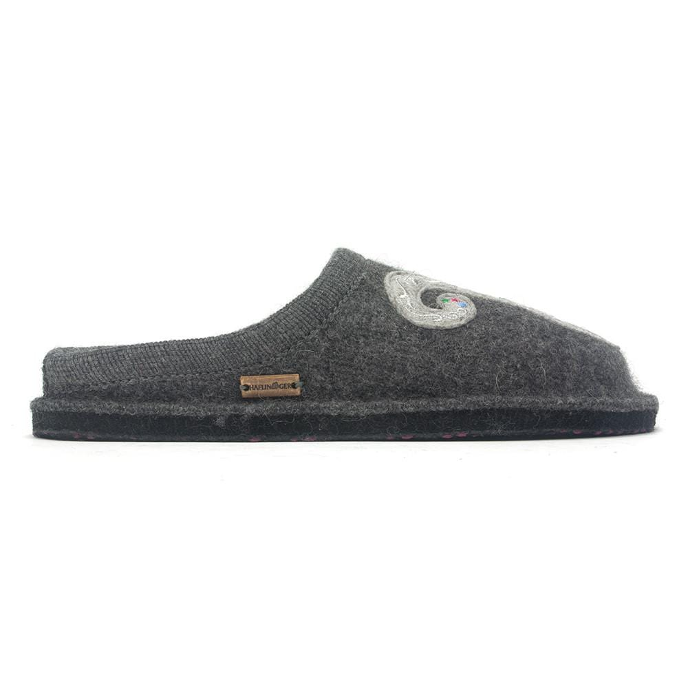 Haflinger Unisex Lizzy Boiled Wool Slipper Shoes