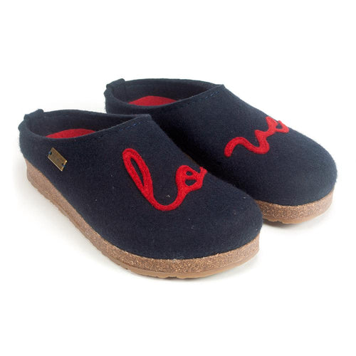 Halfinger Women's Lovely Wool Slip On Slipper Clogs | Simons Shoes