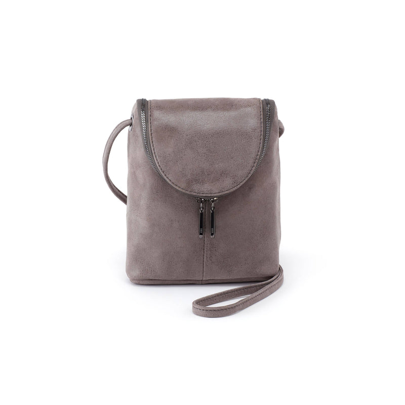 Hobo VI-35782T Fern Titanium Leather Crossbody Bag | Simons Shoes