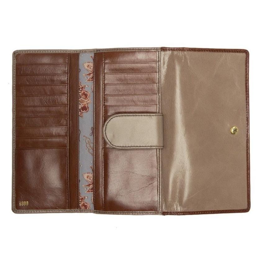 Hobo Beck Cobblestone Leather Wallet (VI-32355)