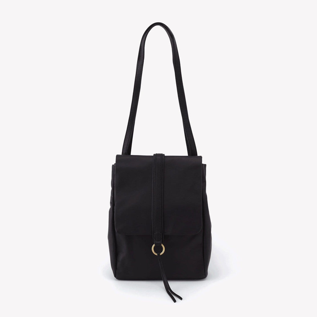 Hobo Bags Bridge Matte Hide Convertible Bag (MV-56043) Black | Simons Shoes