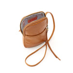 Hobo VI-35791 Fate Crossbody Honey Leather Phone Bag | Simons Shoes