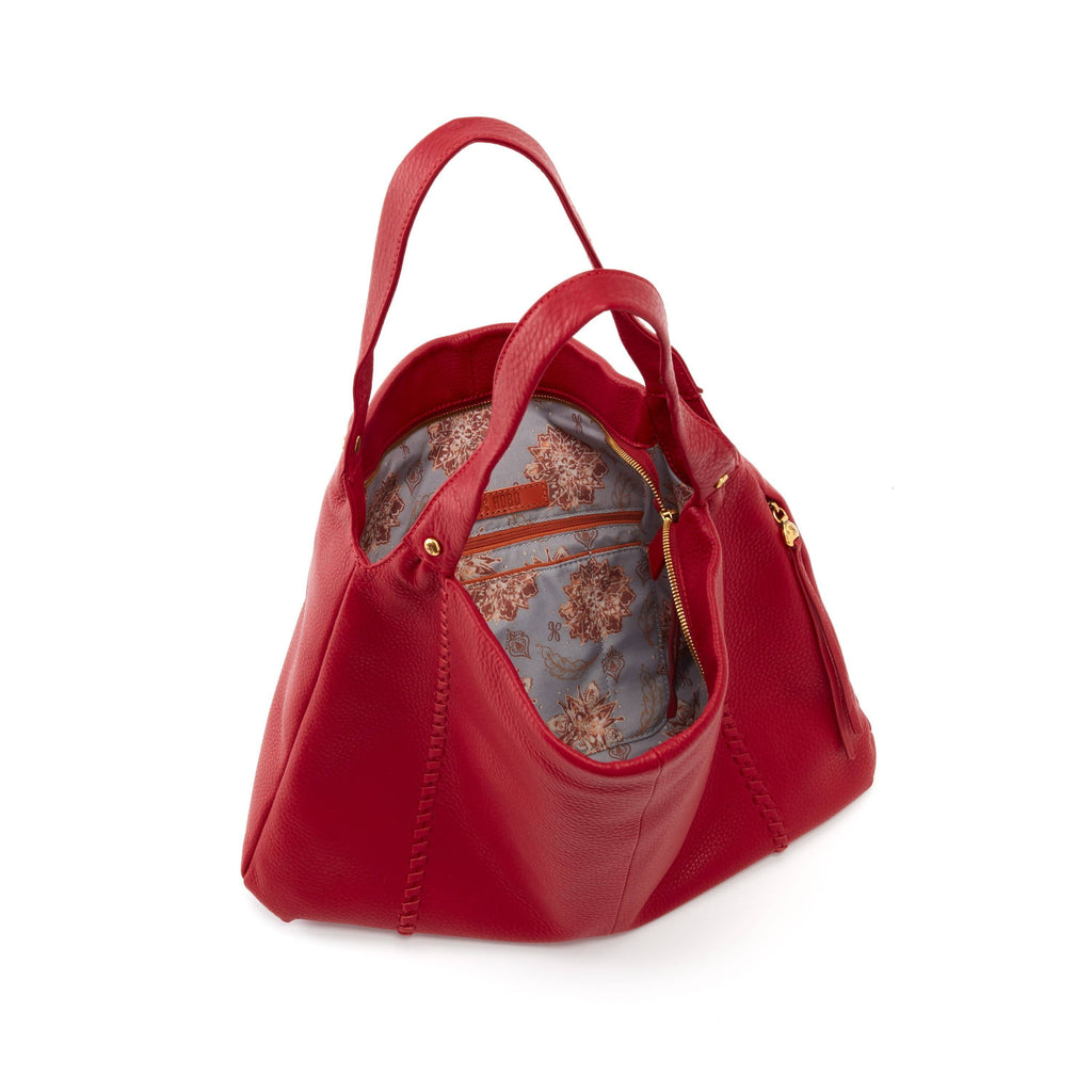Hobo Alannis SO-82325 Scarlet Leather Shoulder Bag | Simons Shoes