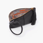 Hobo NU-35036 Sable Black Leather Wristlet Clutch for Women | Simons Shoes