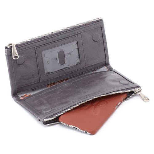 Hobo Leather Wallet Women's Taylor Bifold Wallet (VI-32222)
