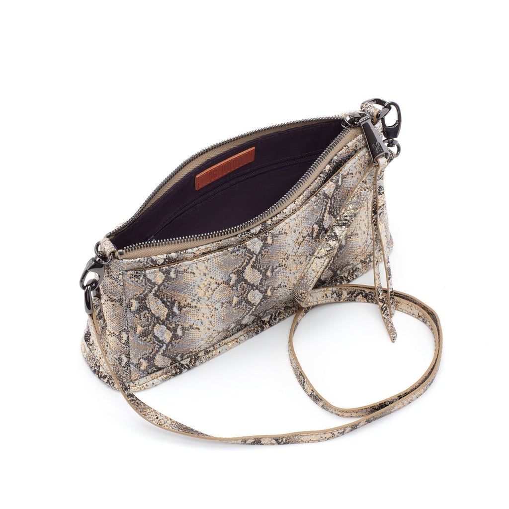 Hobo VI-35588GLAM Cadence Convertible Snake Leather Crossbody | Simons Shoes