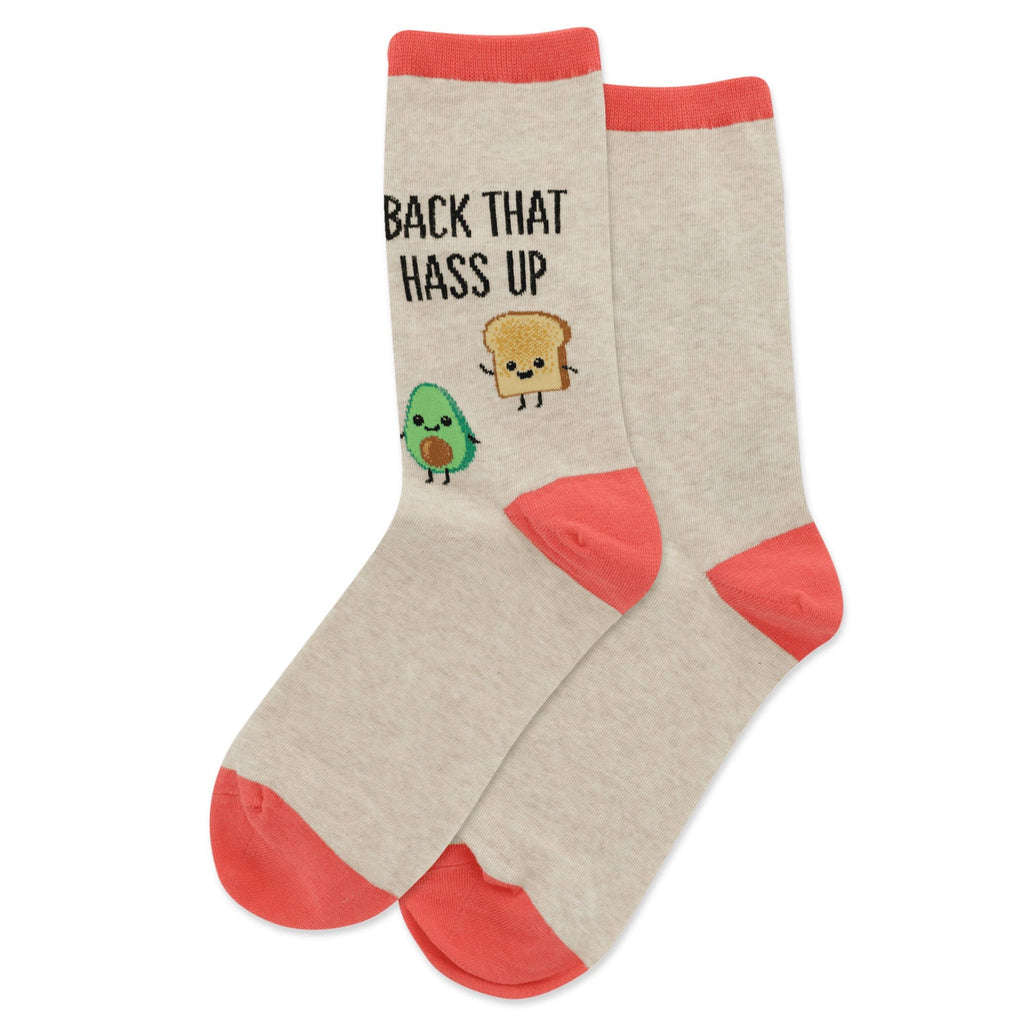 Hot Sox Back That Hass Up Women's Socks Cotton Blend | Simons Shoes