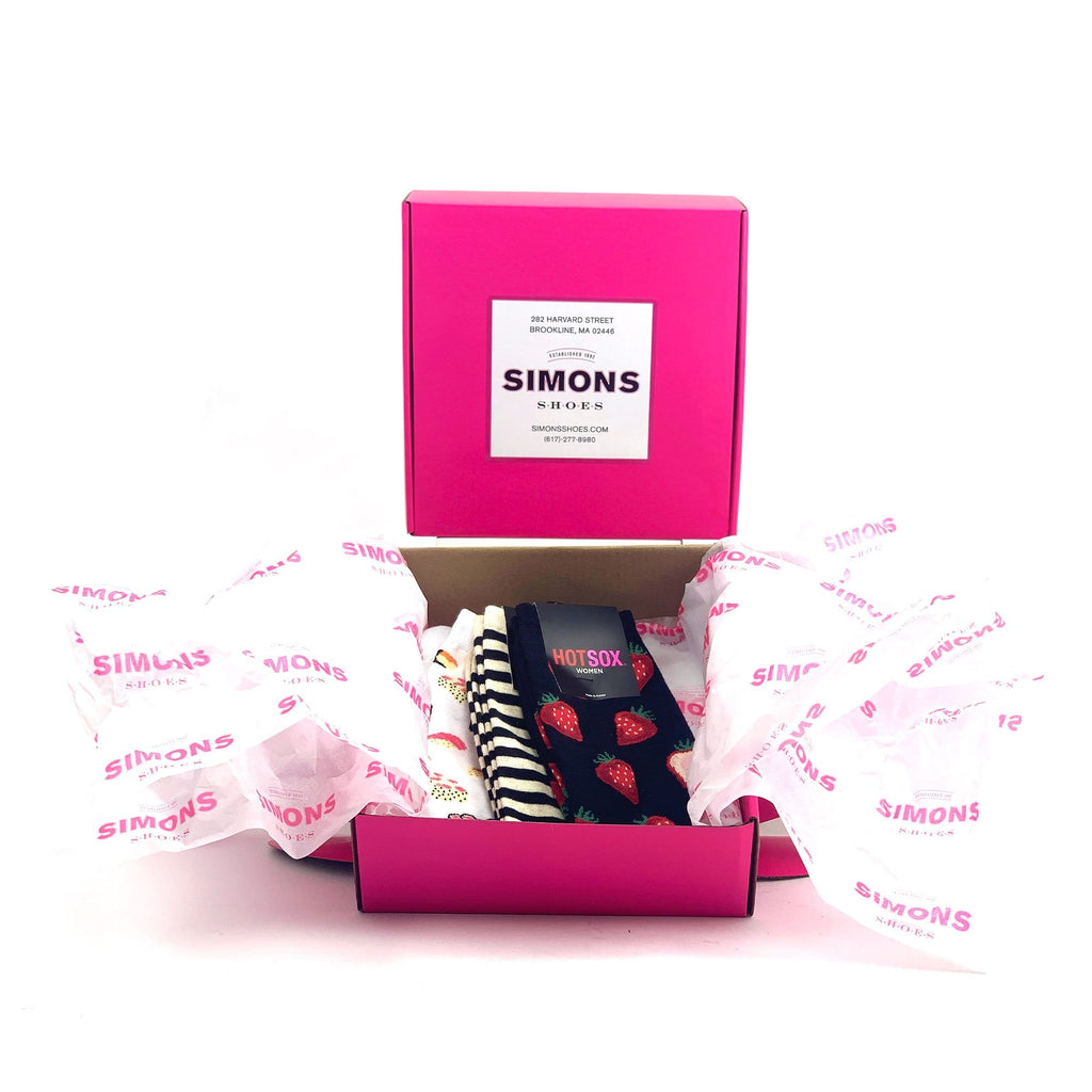 Simons Shoes Gift Box Option