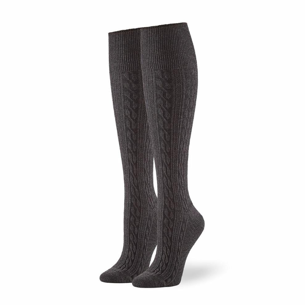 Women's Graduated Compression Cable Knee Sock (20816)