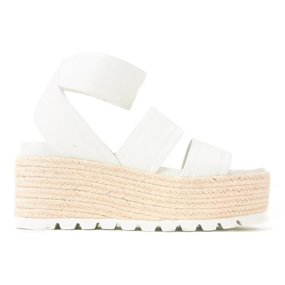 J/Slides Quartz Womens Vegan Strappy Platform Sandals | Simons Shoes