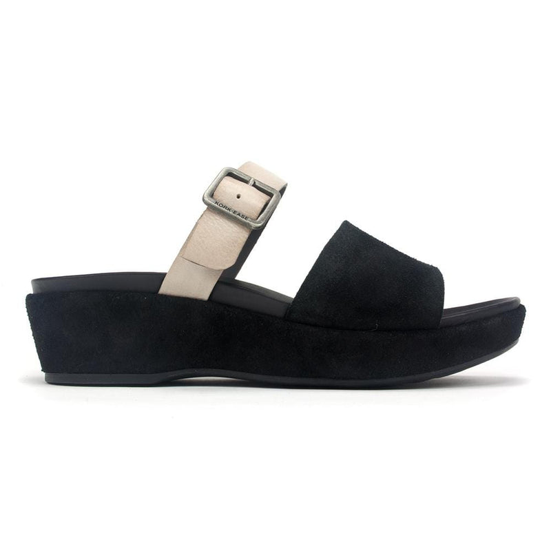 Kork-Ease Sandal - Women Bisti Leather Two-Strap Slide Sandal | Simons