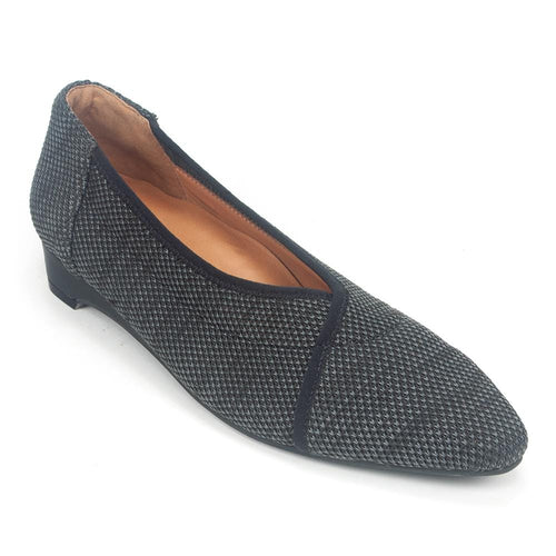 L'Amour Des Pieds Bertin Women's Stretchy Knitted Slip On Flat Shoe