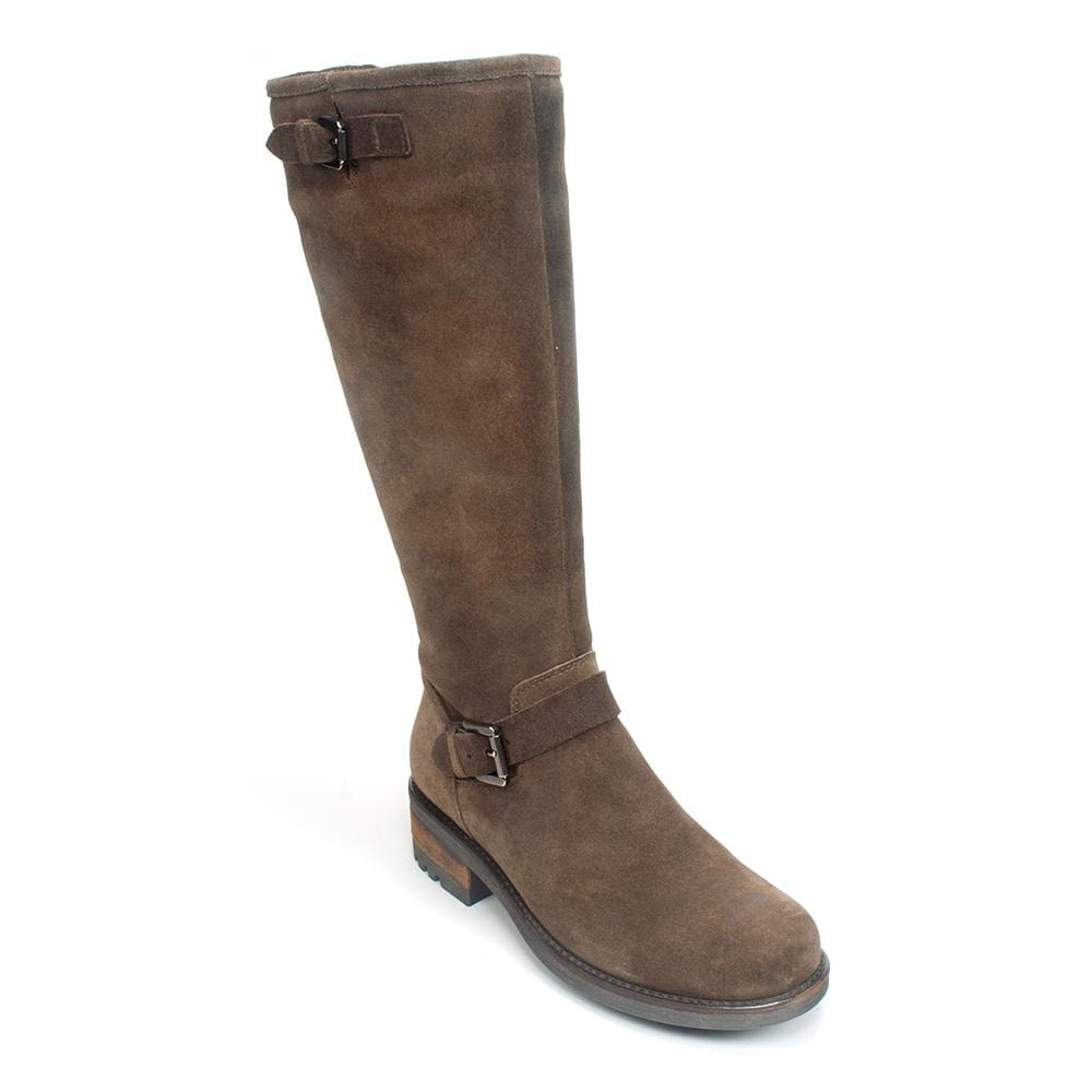 La Canadienne Caleb Women's Waterproof Leather Boot Stone | Simons Shoes