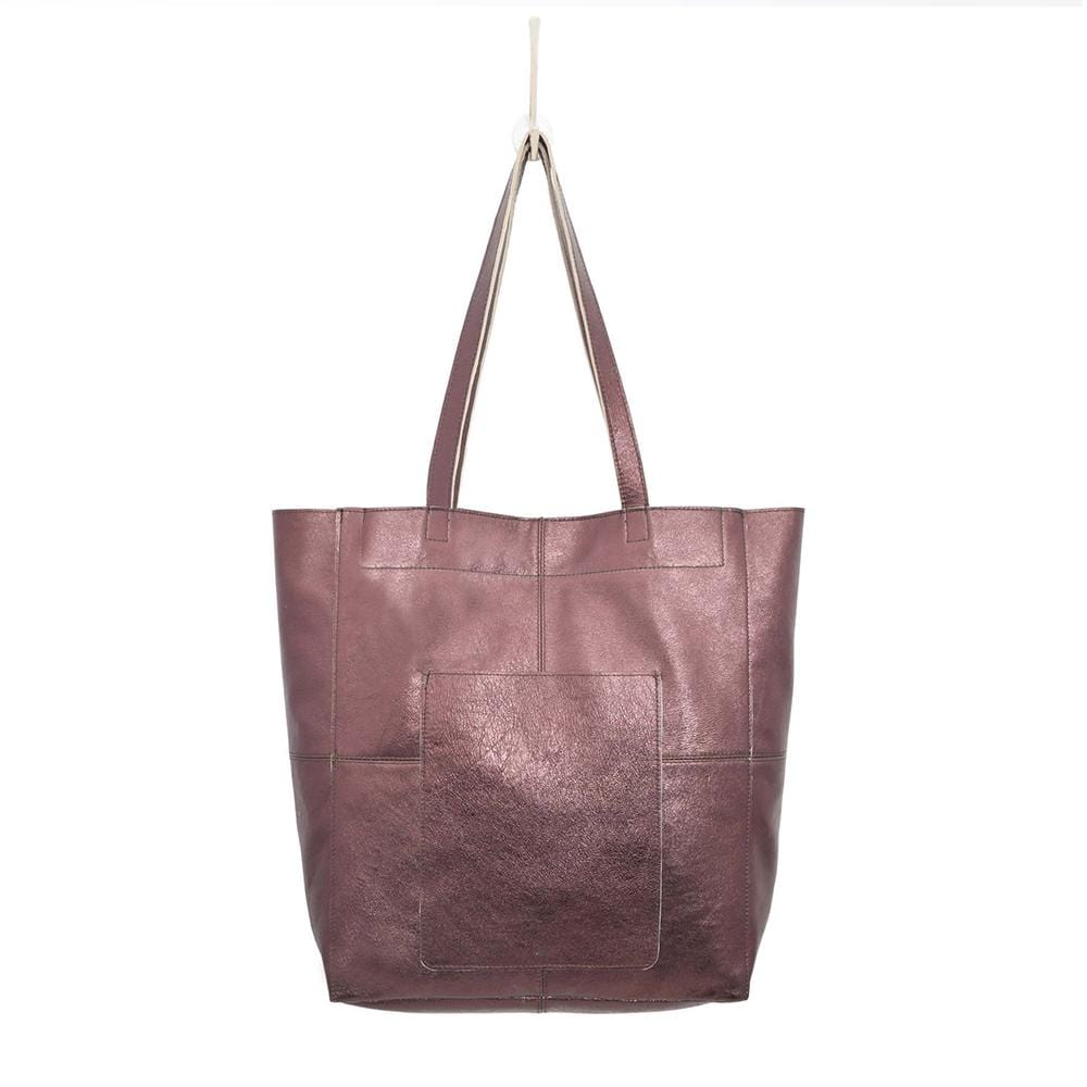Latico Women's Amelia Metallic Leather Tote Bag | Simons Shoes