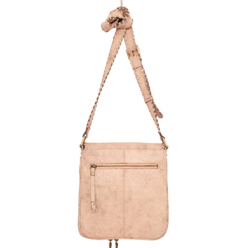 Latico (8977) | Lazlo Hand-Woven Leather Crossbody Bag | Simons Shoes