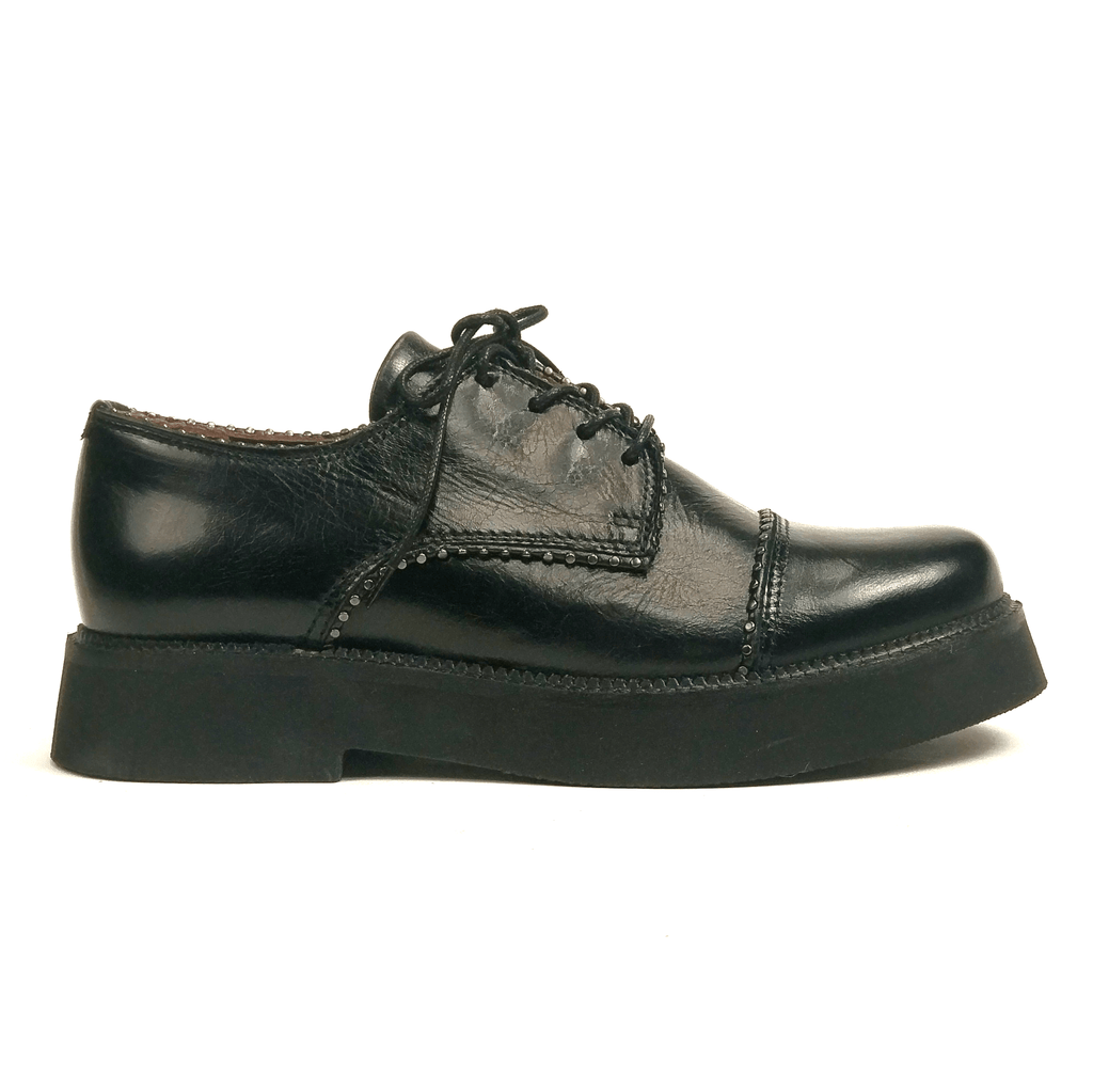 MJUS Taney Platform Oxford | Women's Leather Lace Up | Simons Shoes