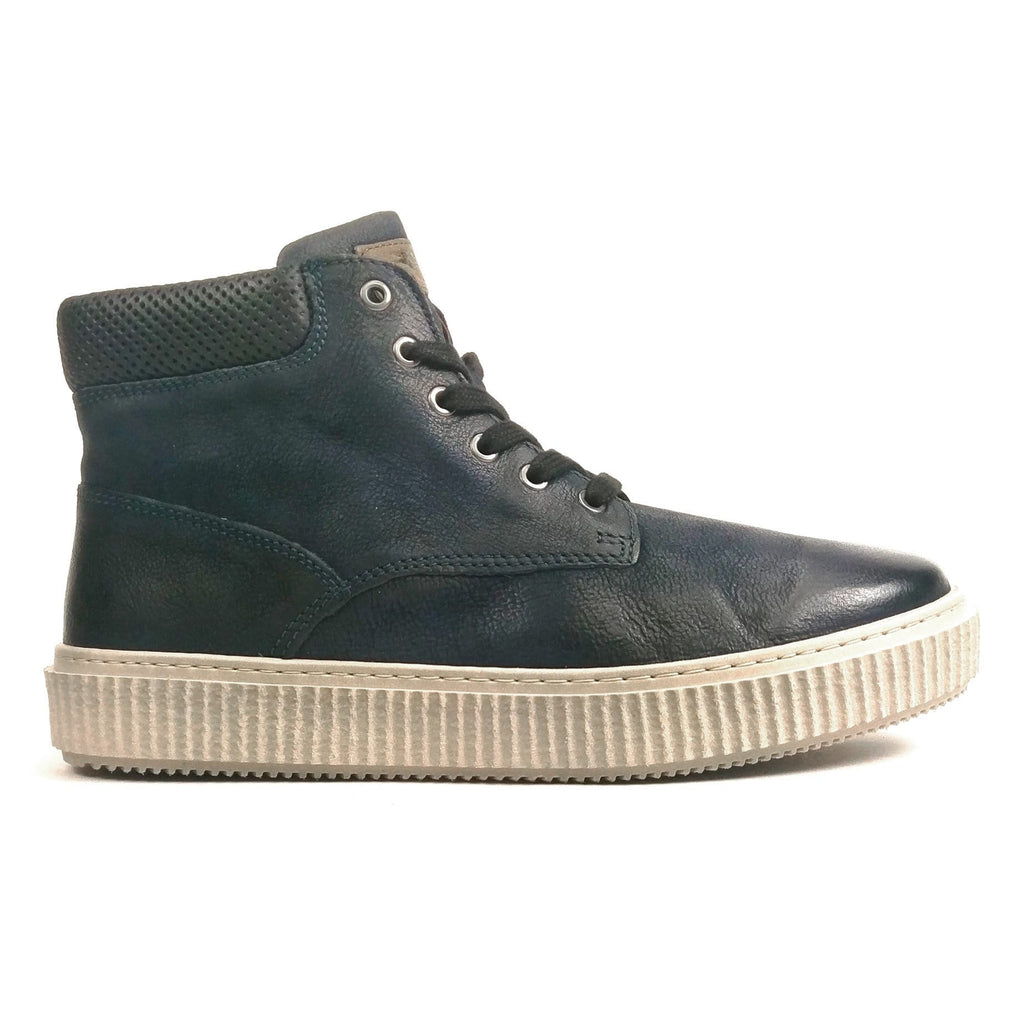MJUS Men's Sewall Leather Comfy Urban High Top Sneaker | Simons Shoes