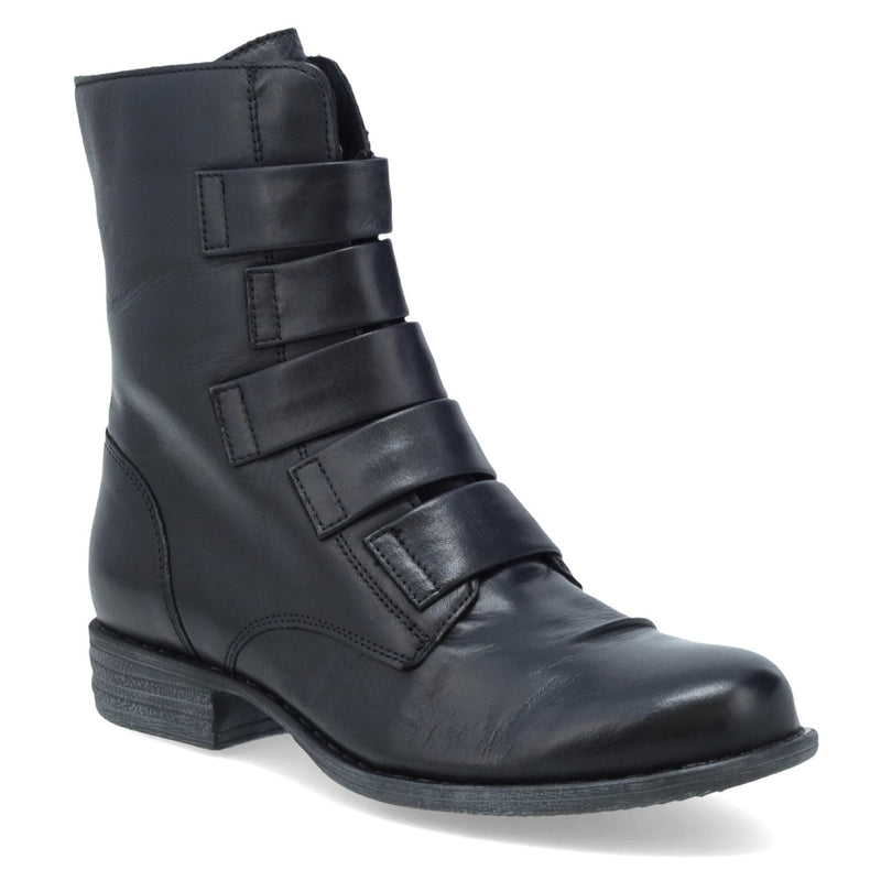 Miz Mooz Leighton Women's Leather Combat Style Bootie | Simons Shoes