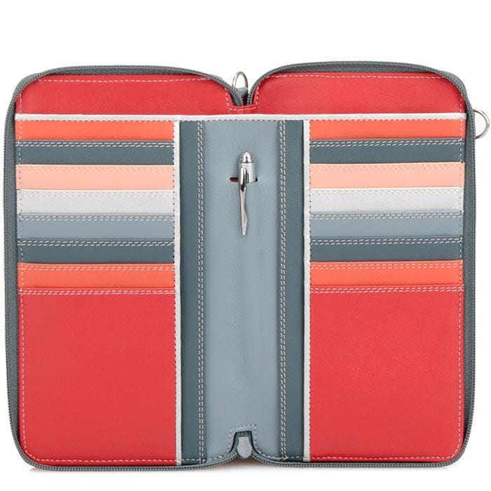 Zip Round Multi Crossbody Wallet (1220)