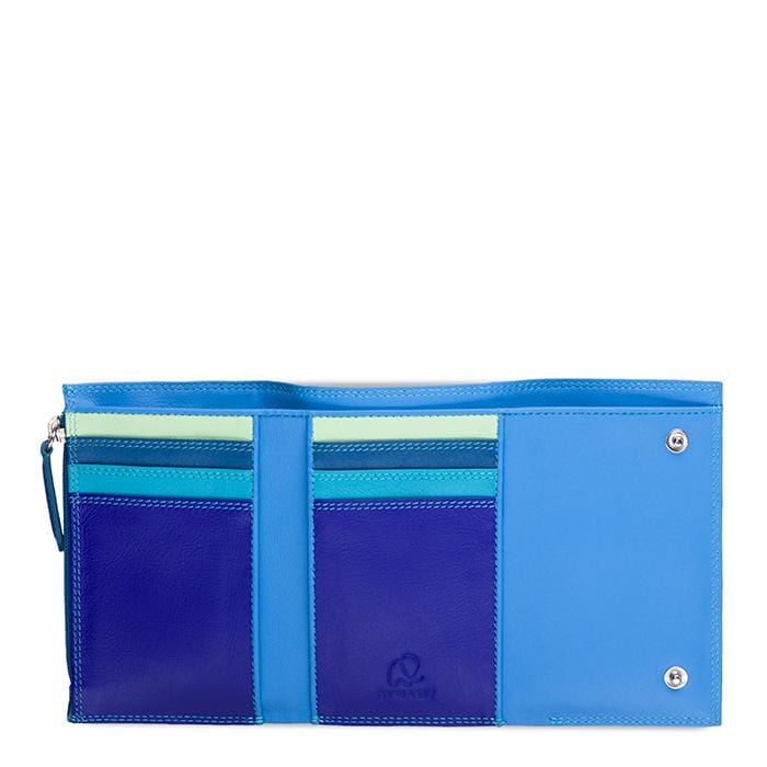MyWalit 1272 Wrap Purse Seascape Leather Wallet | Simons Shoes