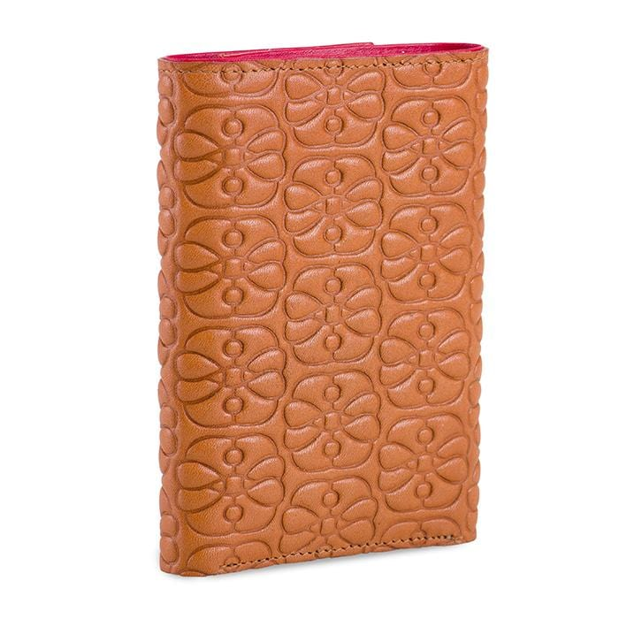 MyWalit 1442 Elefante Trifold Women's Tan Leather Wallet | Simons Shoes