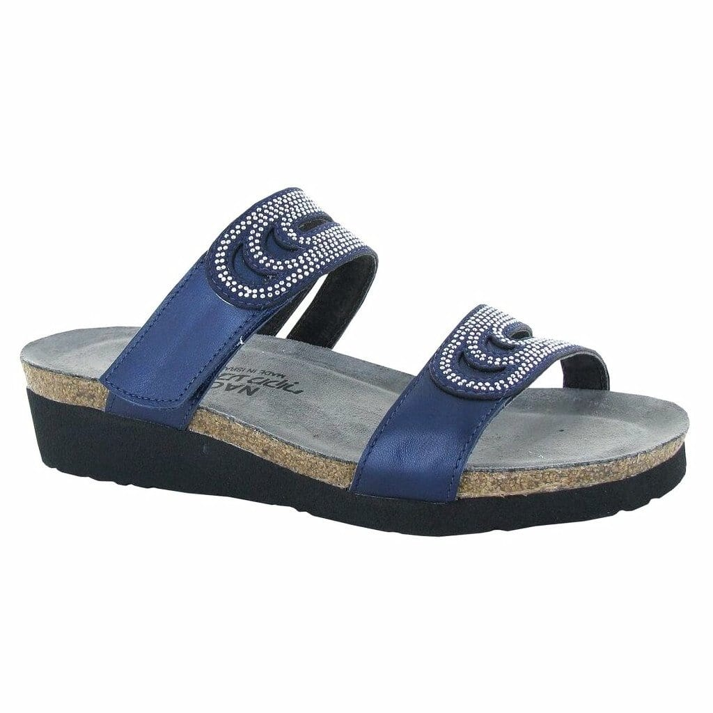 Naot Sandal - Women's Ainsley Leather Riveted Sandal - Simons Shoes