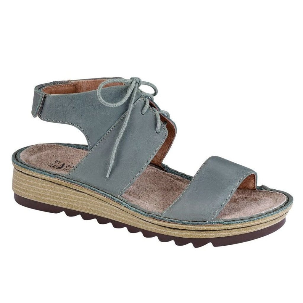 Naot Sandal - Women's Alpicola Leather Low-Wedge Sandal - Simons Shoes