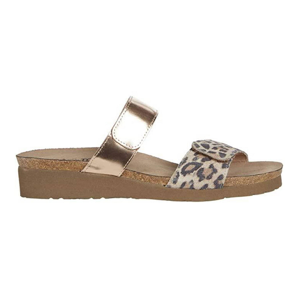 Naot Althea Womens Adjustable Leather Slide Sandal | Simons Shoes