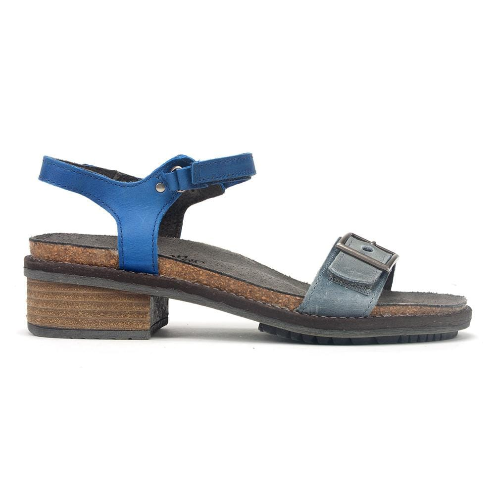 Naot Boho Women's Leather Double Strap Sandal Shoe