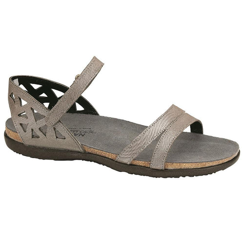Naot Bonnie Women's Cork Cut-out Suede Flat Sandal Shoe